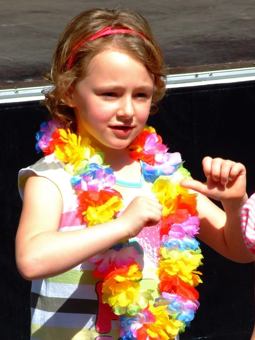 Gelungener Auftritt beim Straßenfest in Brassert
