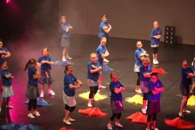 Show im Theater 2010