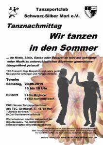 29.06.2019 - Wir tanzen in den Sommer