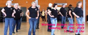 05.10.2019 - Workshop Modern Line-Dance