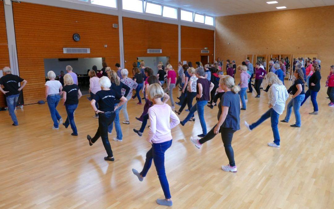 Workshop Modern-Line-Dance voller Erfolg!
