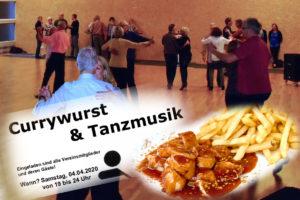 04.04.2020 - Tanzparty: Currywurst&Tanzmusik ABGESAGT