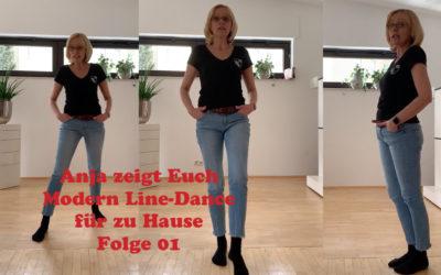 Modern Line-Dance für zu Hause – Folge 01