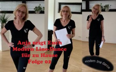 Modern Line-Dance für zu Hause – Folge 02