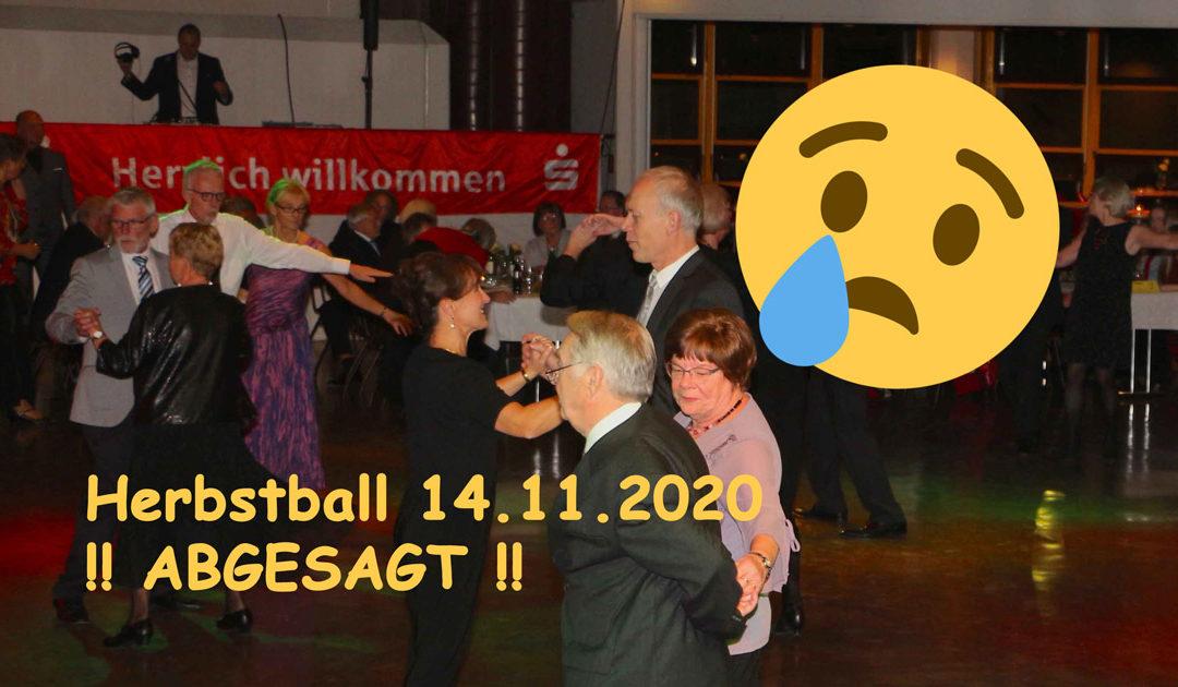 Herbstball 14.11. ABGESAGT