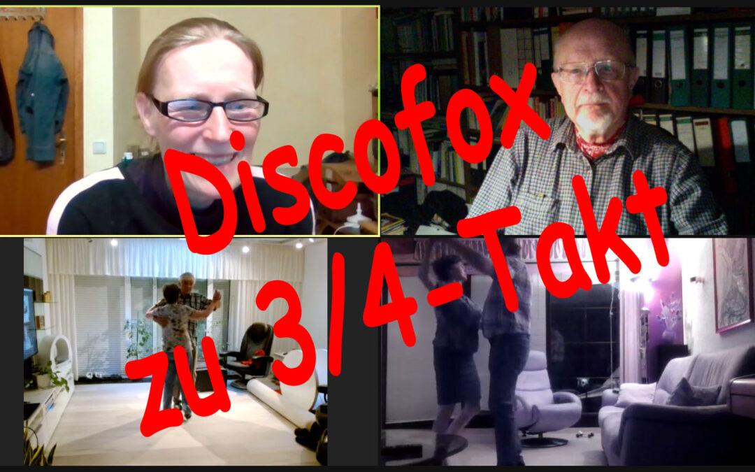 Discofox zu 3/4-Takt … Geht das?