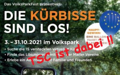 Kürbis-Suche statt Volksparkfest