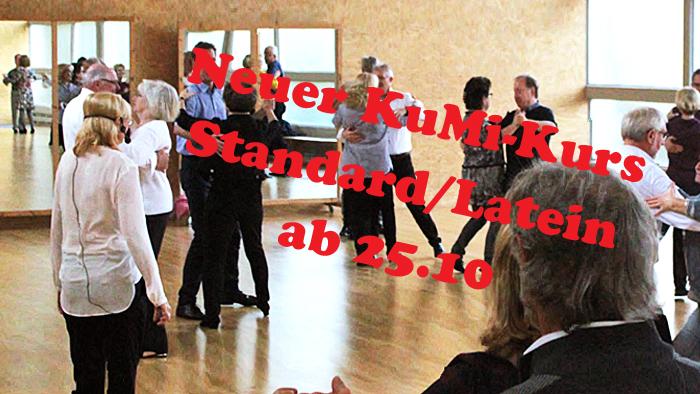 Lust auf Tanzen? Jetzt oder nie: Neuer Einstiegskurs!